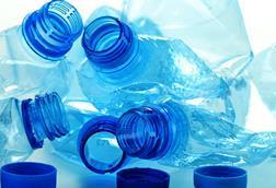 Plastic bottles made from polyethylene terephthalate