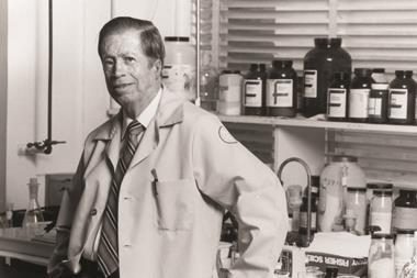 Bruce Merrifield - Inventor of solid phase peptide synthesis