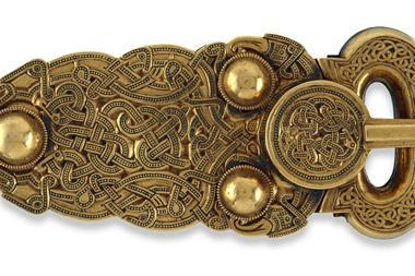 The Sutton Hoo belt- buckle