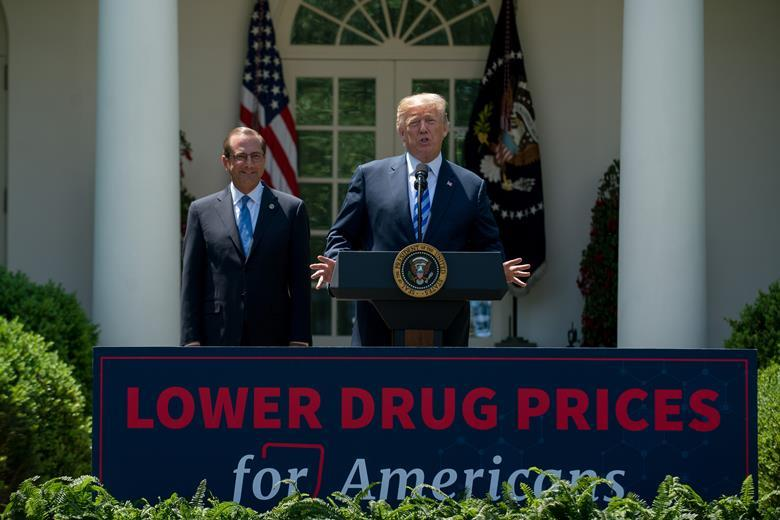 Trump lays out plan to slash drug costs | Chemistry World